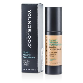 Youngblood Base Liquida Mineral - Golden Tan