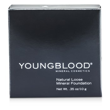 Youngblood Pó base Natural solto Mineral - Rose Beige