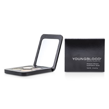 Youngblood Quadrado de sombras Pressed Mineral - Gemstones