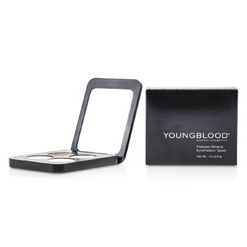 Youngblood Quadrado de sombras Pressed Mineral - Shanghai Nights