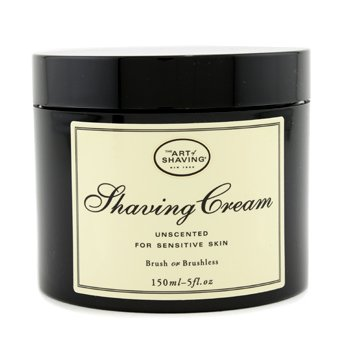 The Art Of Shaving Creme de barbear - Sem perfume ( para Pele sensível )
