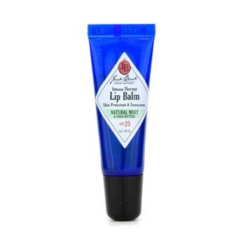 Jack Black Intense Therapy Bálsamo labial SPF 25 With Natural Mint & Shea Butter