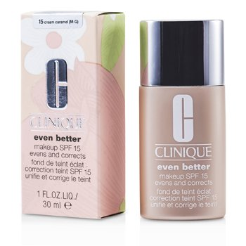 Clinique Even Better Makeup SPF15 (pele mista ou oleosa) - No. 15 Cream Caramel