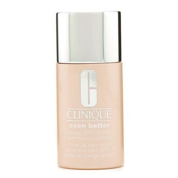 Clinique Base Base Even Better Makeup SPF15 (Seca a mista e mista e oleosa) - No. 12 Ginger