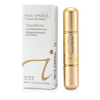 Jane Iredale Batom Sugar & Butte Lip Exfoliant/ Plumper - Sugar & Butter