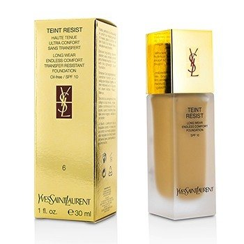 Yves Saint Laurent Base Teint Resist Long Wear Transfer Resistant  SPF10 ( S/ óleo ) - #06 Gold Beige