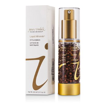 Jane Iredale Base Liquid Mineral A foundation - Terra