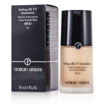 Giorgio Armani Base Lasting Silk UV SPF 20 - # 5.5 Natural Beige