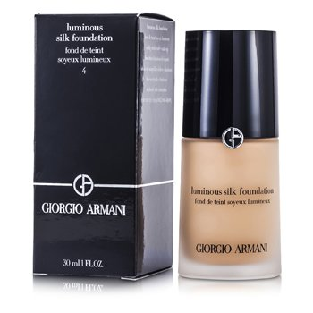 Giorgio Armani Base Luminous Silk Foundation - # 4 (Light Sand)