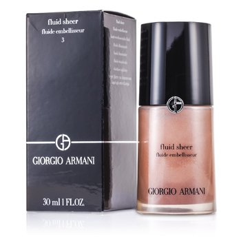 Giorgio Armani Base Fluid Sheer - # 3 Golden Bronze