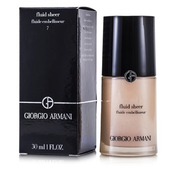 Giorgio Armani Base Fluid Sheer - # 7 Pale Shimmering Rose