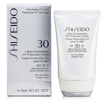 Shiseido Creme Urban Environment UV Protection SPF 30 ( For Face & corpo )