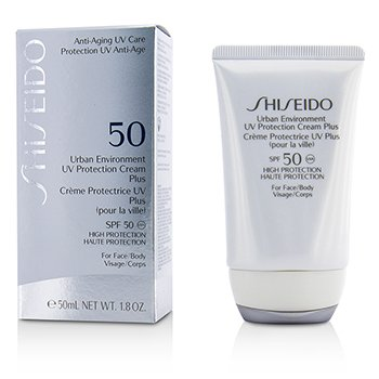 Shiseido Creme Urban Environment UV Protection Plus SPF 50 ( For Face & corpo )
