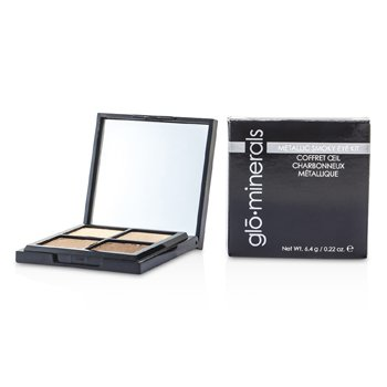 GloMinerals Kit GloMetallic Smoky Eye