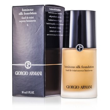 Giorgio Armani Base Luminous Silk  - # 6 (Golden Beige)