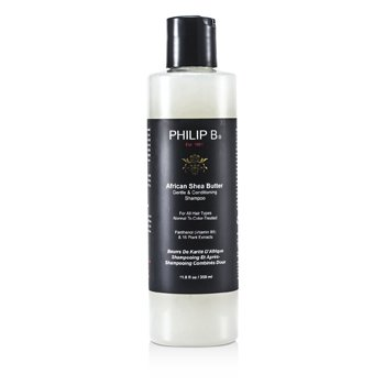 Philip B Shampoo African Shea Butter Gentle & Conditioning S ( todos os tipos de cabelo, Normal to Color-Treated )