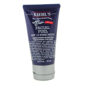 Kiehls Hidratante Facial Fuel SPF 15 Sunscreen Energizing Moisture Treatment