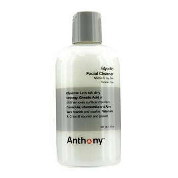 Anthony Tonico de limpeza facial  Logistics For Men Glycolic