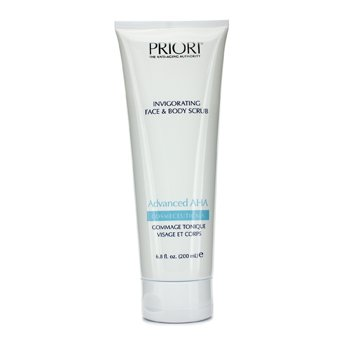 Priori Exfoliante Advanced AHA Invigorating Face & Body Scrub
