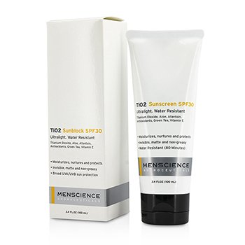 Menscience TiO2 Sun Block SPF 30 Waterproof