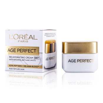 LOreal Creme Dermo-Expertise Age Perfect Reinforcing Rehydrating Day  ( p/ pele madura )