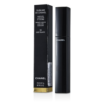 Chanel Mascara Sublime De Chanel  - # 10 Deep Black