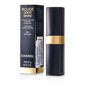Chanel Batom Batom Rouge Coco Shine Hydrating Sheer - # 60 Antigone
