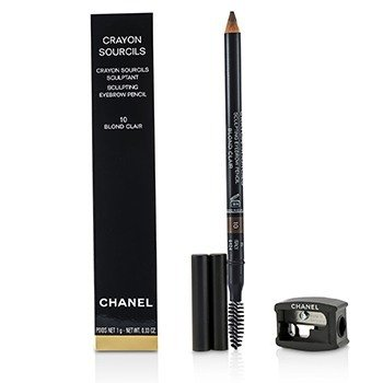 Chanel Lápis de sobrancelha Crayon Sourcils Sculpting  - # 10 Blond Clair