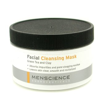 Menscience Mascara de limpeza Facial  - Green Tea And Clay