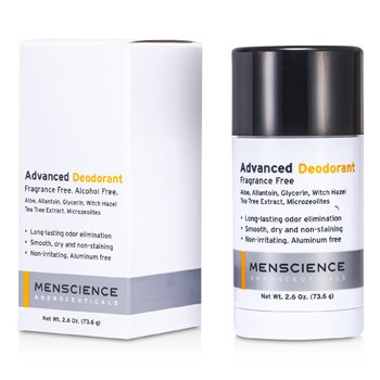 Menscience Advanced Desodorante  - s/ perfume