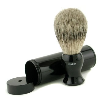 EShave Travel Brush Finest With Canister - Black