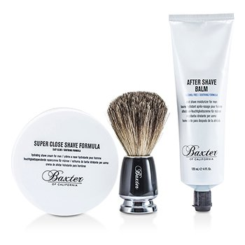 Baxter Of California Shave 1.2.3 Set: Shave Formula + Bálsamo  + Pincel