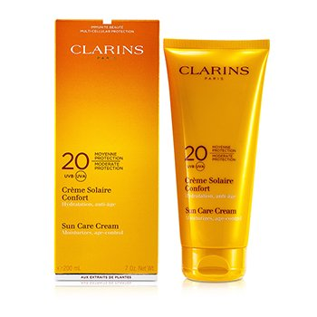 Clarins Creme  protetor Sun Care Moderate Protection 20 UVB/UVA