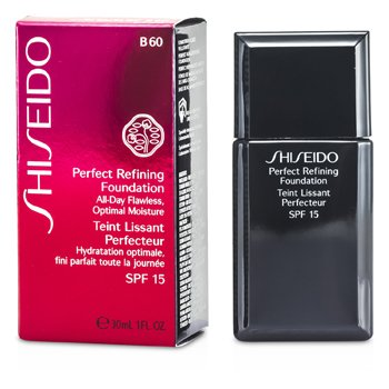 Shiseido Base Perfect Refining Foundation SPF15 - # B60 Natural Deep Beige