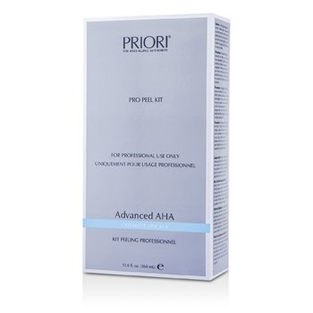 Priori Kit Advanced AHA PRO Peel  (Tamanho profissional ) : Pre-Peel Solution + Gel exfoliante Multi-Layer