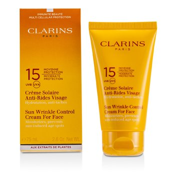Clarins Creme protetor solar Sun Wrinkle Control Moderate SPF 15