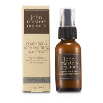 John Masters Organics Serum facial Green Tea & Rose Hydrating Face Serum (p/ pele normal/ seca )
