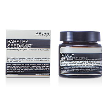 Aesop Creme p/ os olhos Parsley Seed Anti-Oxidant