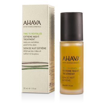 Ahava Tratamento noturno Time To Revitalize Extreme