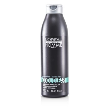 LOreal Shampoo Professionnel Homme Cool Clear Anti-Schuppen