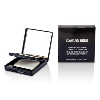 Edward Bess Pó base Sheer Satin Cream Compact Foundation - #01 Light