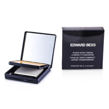 Edward Bess Pó base Pó base Sheer Satin Cream Compact Foundation - #03 Nude