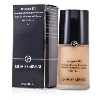 Giorgio Armani Base Designer Lift Smoothing Firming Foundation SPF20 - # 5