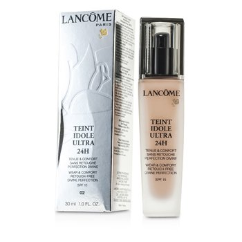 Lancôme Base Teint Idole Ultra 24H Wear & Comfort Foundation SPF 15 - # 02 Lys Rose