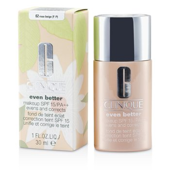 Clinique Base Even Better Makeup SPF15 (pele mista ou oleosa) - No. 62 Rose Beige