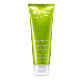 Biotherm Gel de Limpeza Pure.Fect Skin Anti-Shine Purifying Cleansing Gel  (Pele Mista a Oleosa)