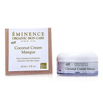Eminence Mascara facial Coconut Coconut Cream Masque(pele normal a seca)