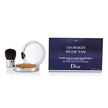 Christian Dior Pó facial Diorskin Nude Tan Nude Glow Sun Powder (With Kabuki Brush) - # 003 Cinnamon
