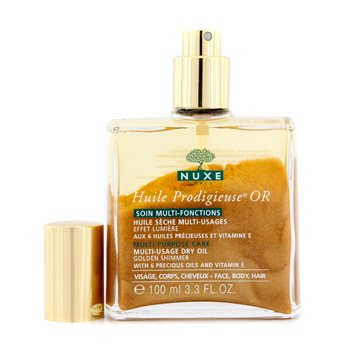 Nuxe Óleo Huile Prodigieuse Multi Usage Dry Oil - Golden Shimmer