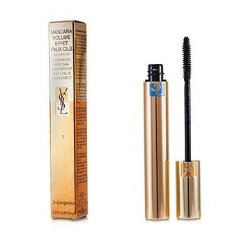 Yves Saint Laurent Rímel Volume Effet Faux Cils Waterproof - # 1 Charcoal Black